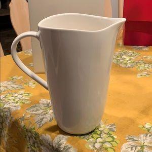 Diane Von Furstenberg water pitcher